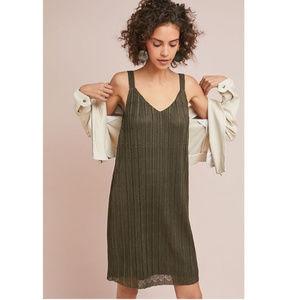 Anthro   Meadow Rue NWT Prespa Pleated Dress sz 16